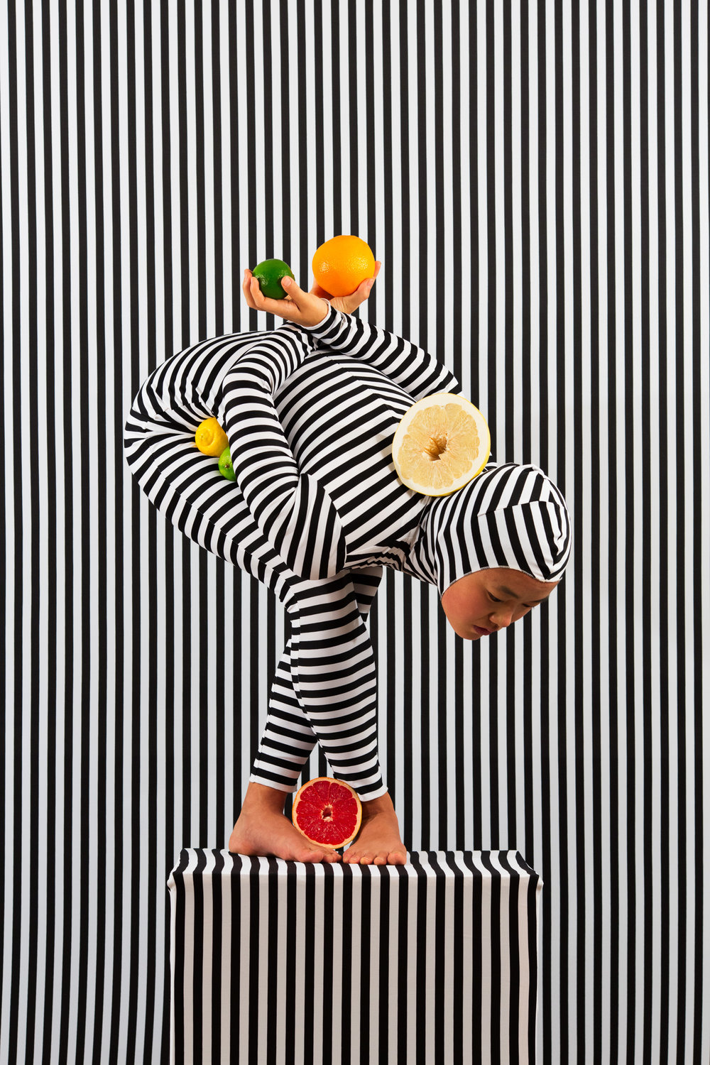 An Arrangement (Stripes Case Study 5)  2018, archival pigment print 91.5 x 61 cm / 36 x 24 in. Edition of 3