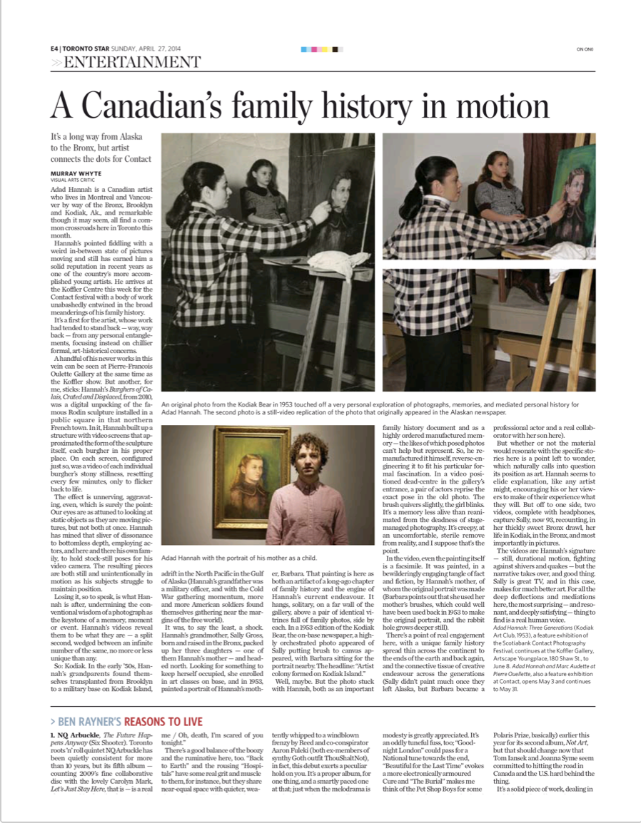 Toronto Star, 2014