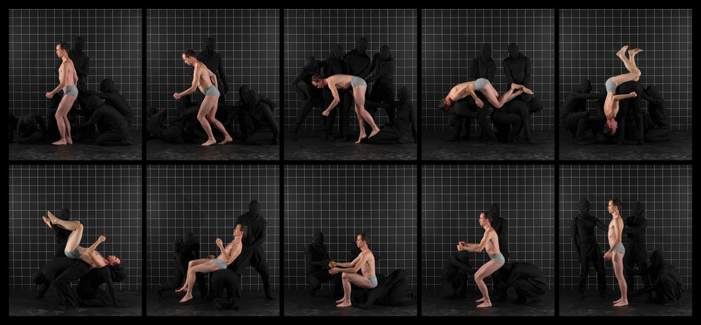 "After Muybridge (Front Flip 2)  2016, archival pigment print 46.5 x 100.5 cm (18.25"" x 39.5"")  93 x 199.5 cm (36.5"" x 78.5"") Editions of 2"