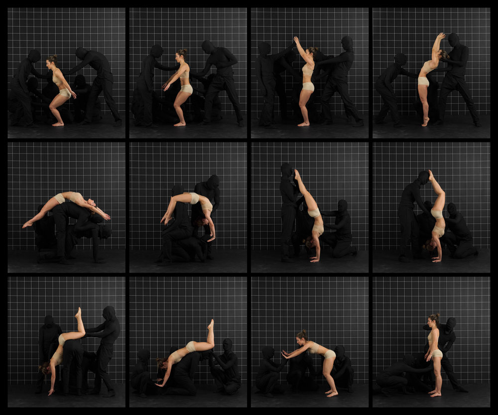 "After Muybridge (Back Handspring)  2016, archival pigment print 68.5 x 82.5 cm (27"" x 32.5"")  137 x 165 cm (54"" x 65"") Editions of 2"