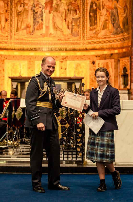 RAF - Freiya Elton certificate.JPG