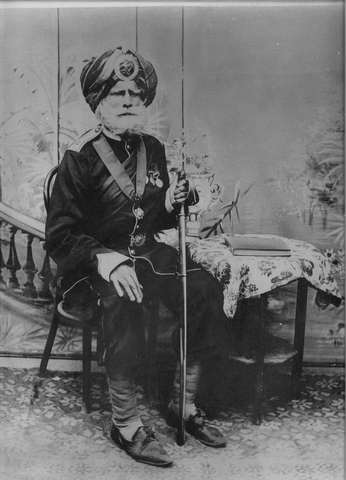 Honorary Captain Subedar Major Sardar Lehna Singh, Sardar Bahadur, O.B.I. 1st Class, I.O.M. (1825–1916)