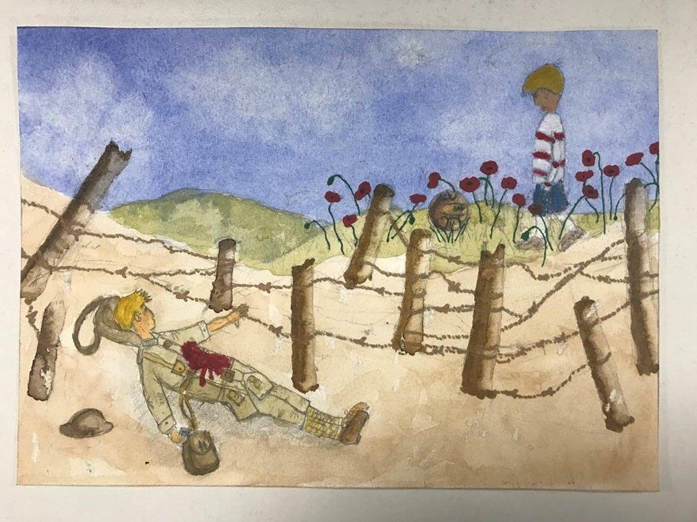 Let's Make Art, Not War by Calvin Metcalfe A56 3rd.jpg