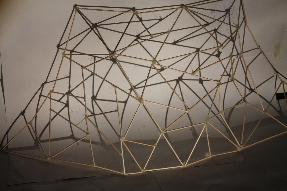Model building for theatre set design
