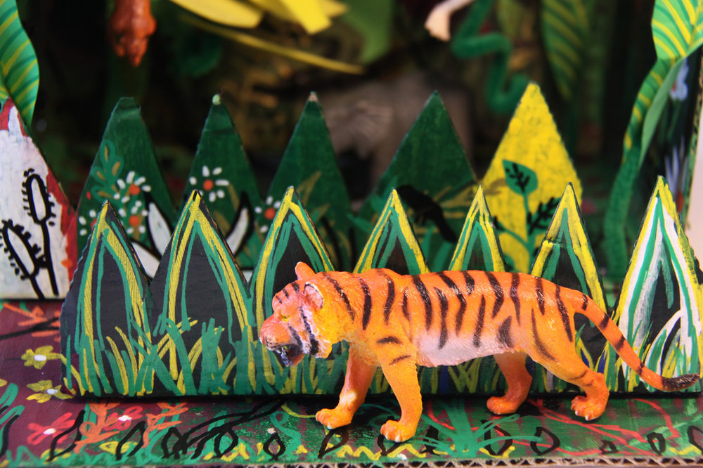 Jungle Diorama