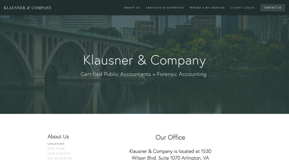 KLAUSNER & COMPANY | Diseñador Desconocido