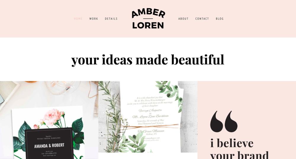 AMBER LOREN I Diseñador Desconocido