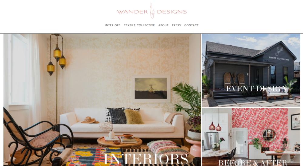 WANDER DESIGNS I JPW Design
