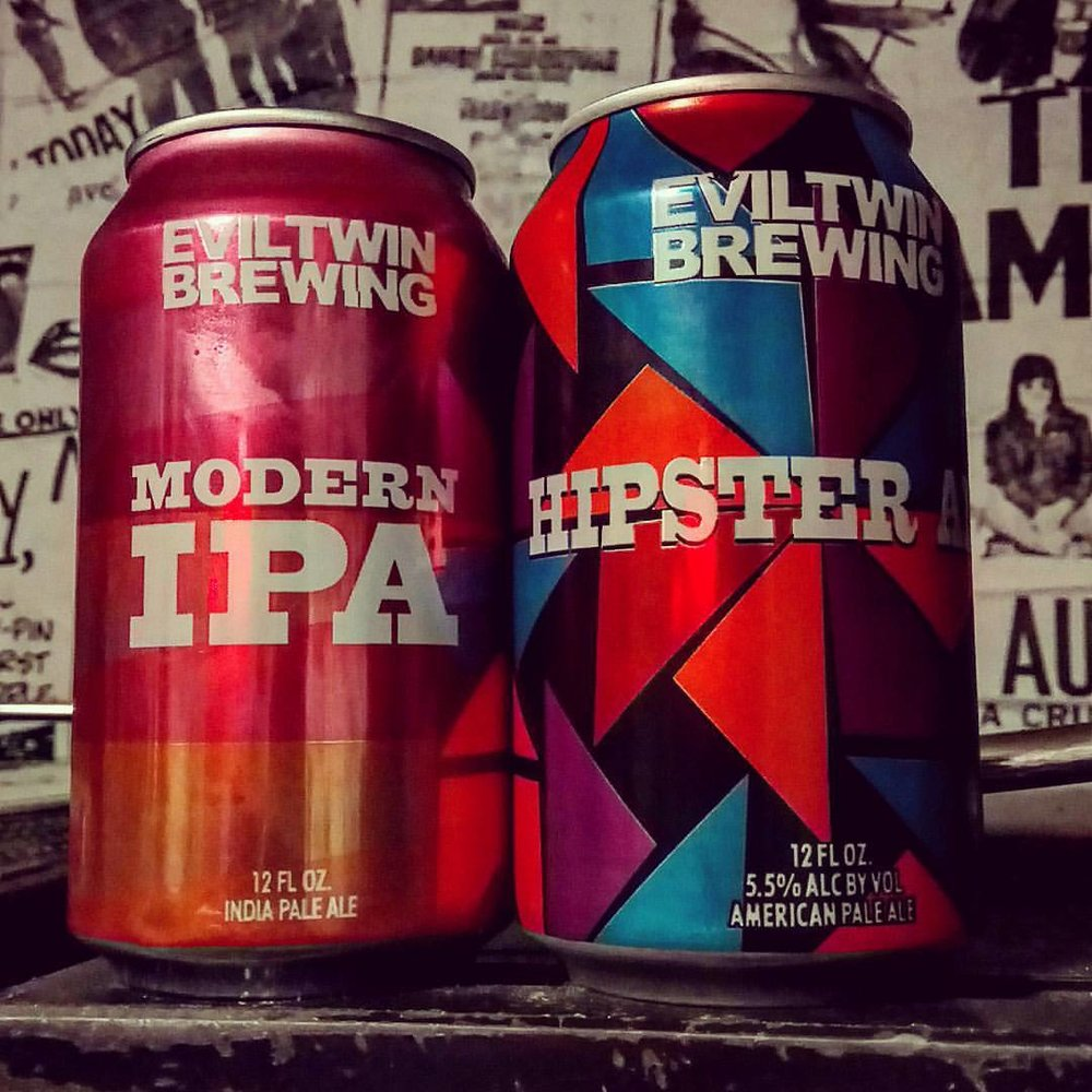We're feeling evil this Halloween. Evil Twin that is. Two of our favourite pale ales.