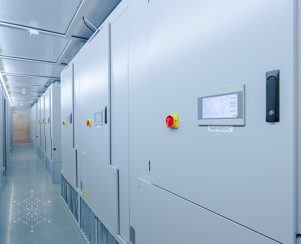 Colocation facility equipped with modular ECT 108000 CloudCooler