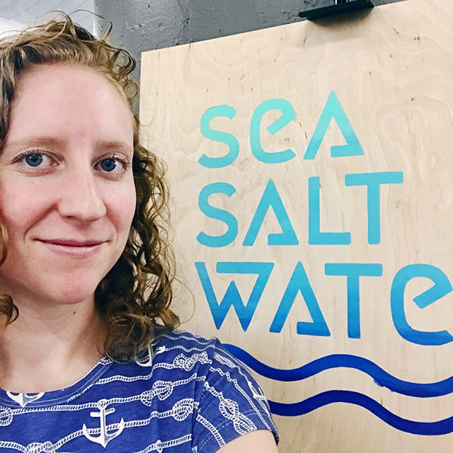 You can take the girl out of Florida but you can't take the Florida out of the girl. This weekend I'll be showing my ceramic work (@sea.salt.water) in Brooklyn, NY at @renegadecraft! I'm actually missing my high school reunion for this show but it seems fitting that I'll be repping the coastal influences that forged me and my newly official business: Sea Salt Water. I basically jumped off a cliff this year in order to make room for and eventually pursue the ideas and art that make me whole. Here's to the free fall! 😅 NYC friends: Come say hi this weekend!