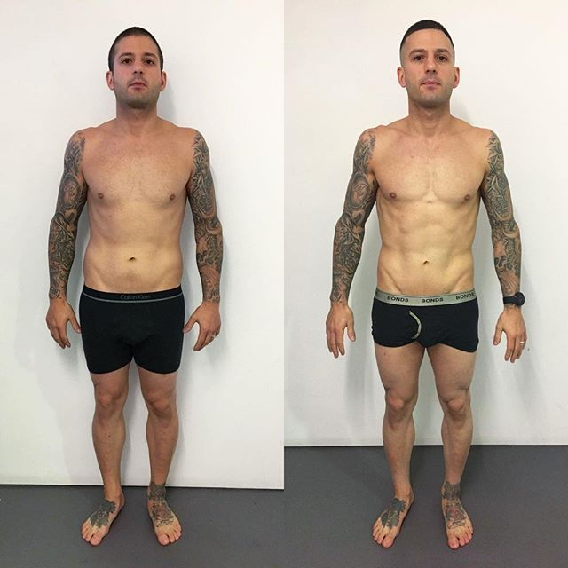 AND THE WINNER IS.....ROSS!!! This legend just took out our 14th round of our 8 Week Transformation Challenge.  7kgs of actual fat lost 4 levels of visceral fat dropped 8.4% Body Fat gone!!! Putting in the work every single day, he took every single piece of advice we gave, adjusted to all training corrections, trusted the process and the results well and truly speak for themselves!  We are all stoked for you Ross🙌🏼 Enjoy that $1000 cash prize buddy! Well deserved!! #Winner #LifestyleChange #StrengthTraining #HIIT #MaintainableNutrition #Transformation #Fit #Healthy #Legend #Humble