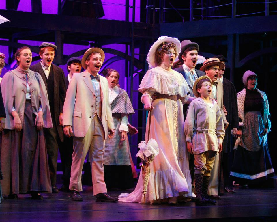 Mother in Ragtime at the Crane School of Music (2013). Photo by Dr. Carleen Graham.