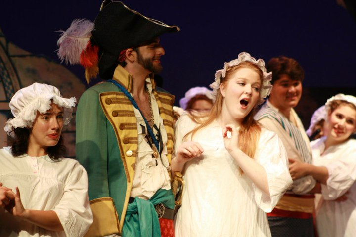 Edith in Pirates of Penzance at the College Light Opera Company (2011). Photo by Audrey Saccone.