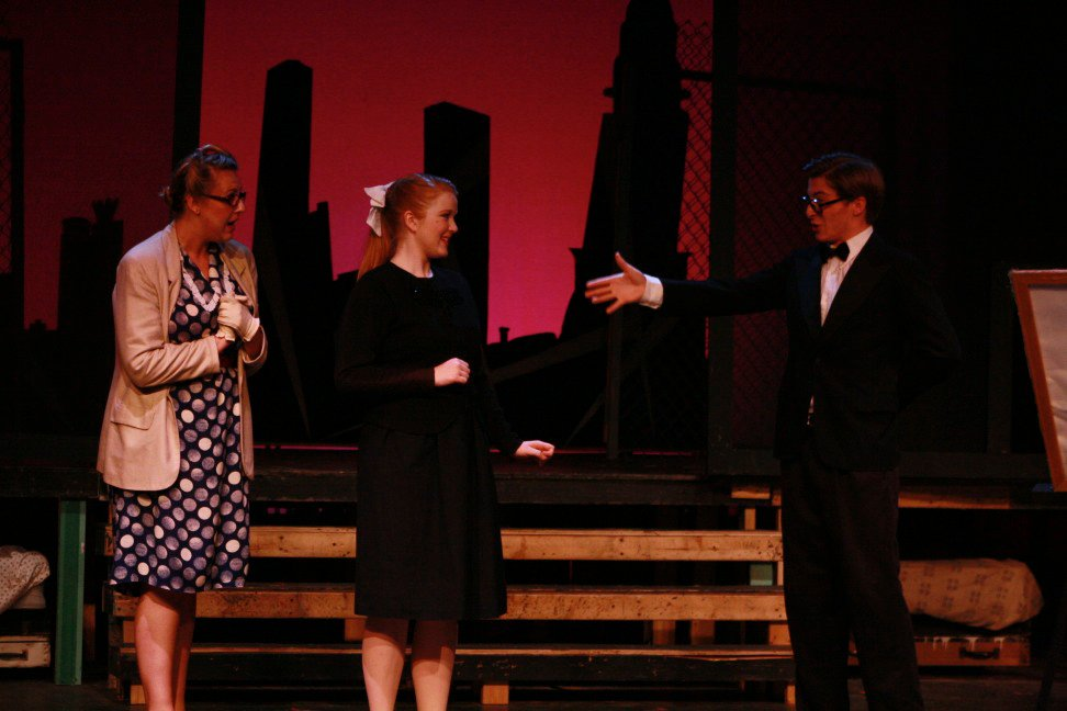 Helen in Wonderful Town at College Light Opera Company (2011). Photo by Audrey Saccone.