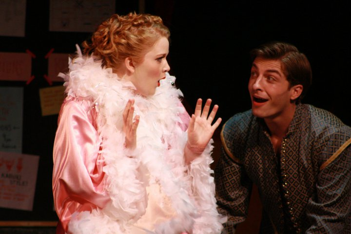 Lois Lane in Kiss Me, Kate! at College Light Opera Company (2011). Photo by Audrey Saccone.