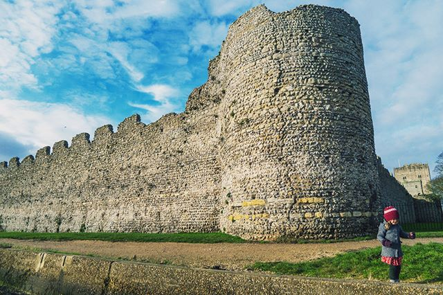 Portchester - the best preserved Roman castle north of the Alps - a Medieval fort - an Augustinian priory - and a WW2 prison camp. One space, many uses...