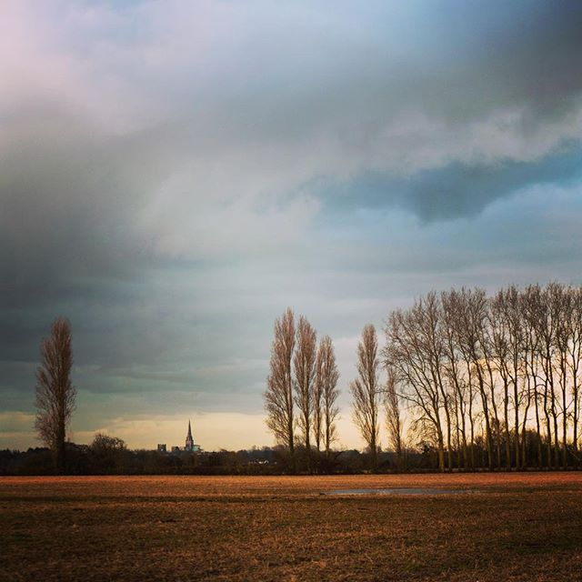 Approaching Chichester from Bosham... #oldway #path #journey #walk #way #pilgrimage