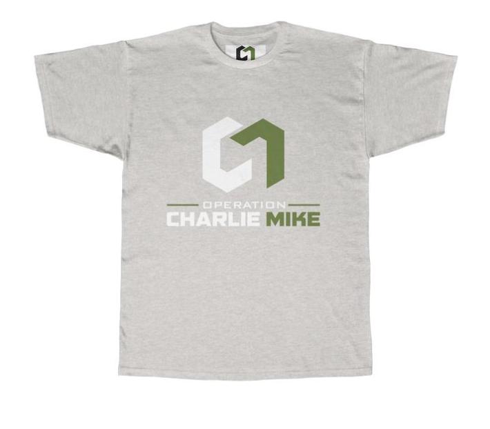 CHARLIE MIKE BASIC TEE - $24.97