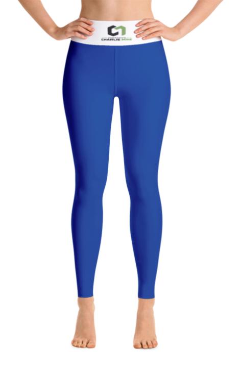 OCM YOGA LEGGINGS BRIGHT BLUE - $56.76