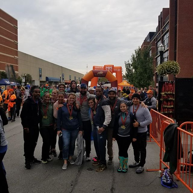 The Bourbon Chase 2018 is complete! We finished 66th overall out of 437 teams. We finished 21st out of 247 mixed (male/female teams). We held an average pace of 8:30 for 200 miles! What an amazing experience with this group of athletes. #bourbonchase2018 #ragnar #crossfit #cfirunsragnar #runkentucky #cfirunclub #outliftarunneroutrunalifter