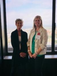 Marilyn Dahl & Jen Ross at Legislative Day; Tallahassee, FL