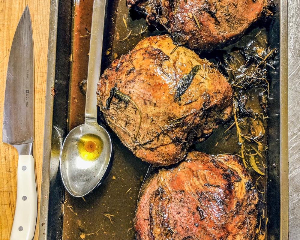 Roast veal at Toscana Saporita