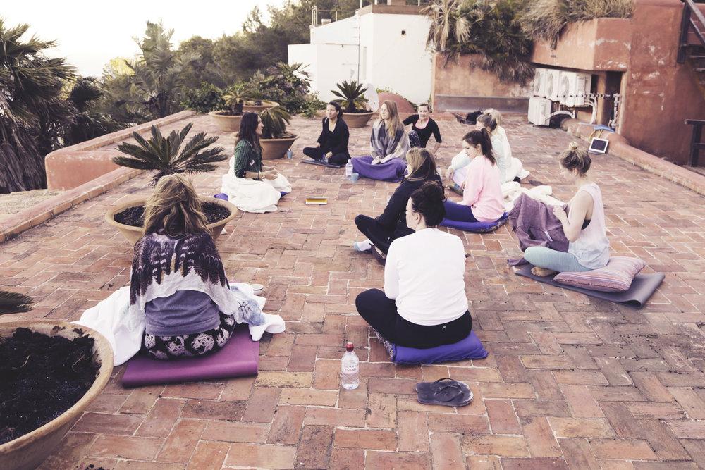 yoga retreat in marrakesh
