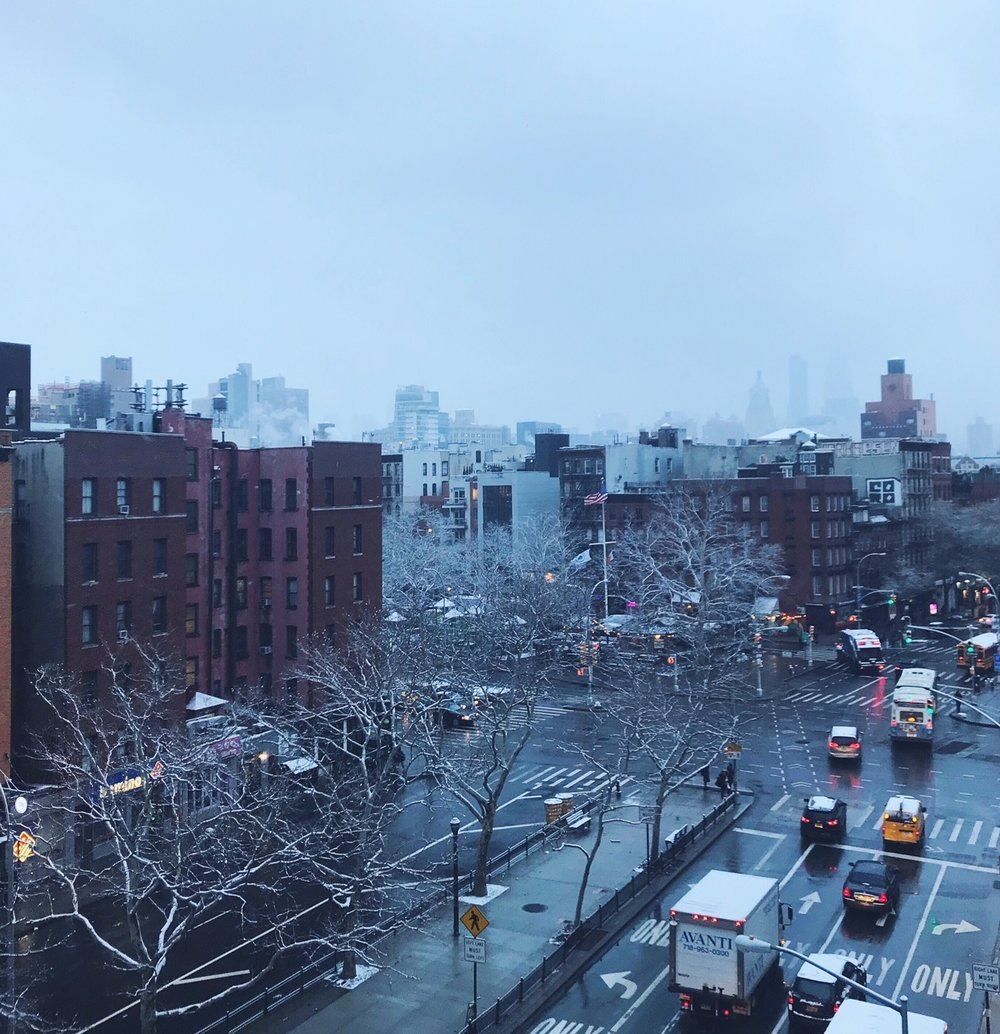 View from our hotel in the Lower East Side