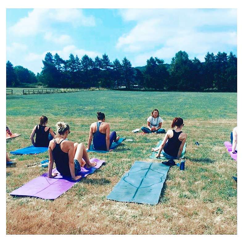 outdoors yoga sussex