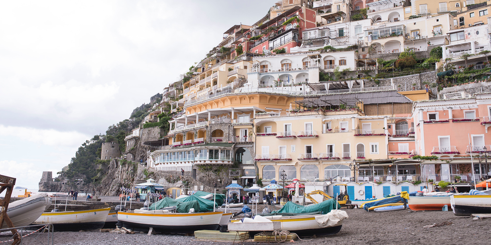 DAN SWIFT AND MEGAN VASSALLO, HONEYMOON TO AMALFI COAST