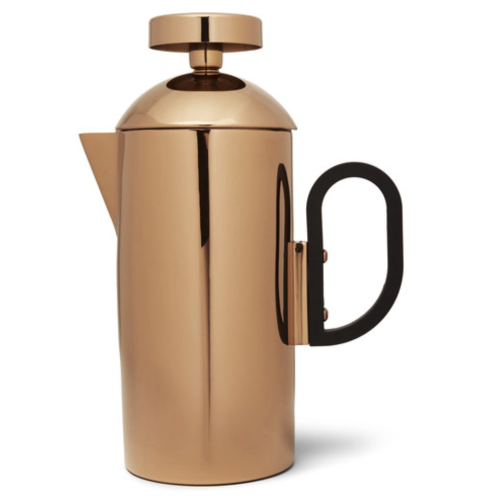 Brew Copper-Plated Cafetiere