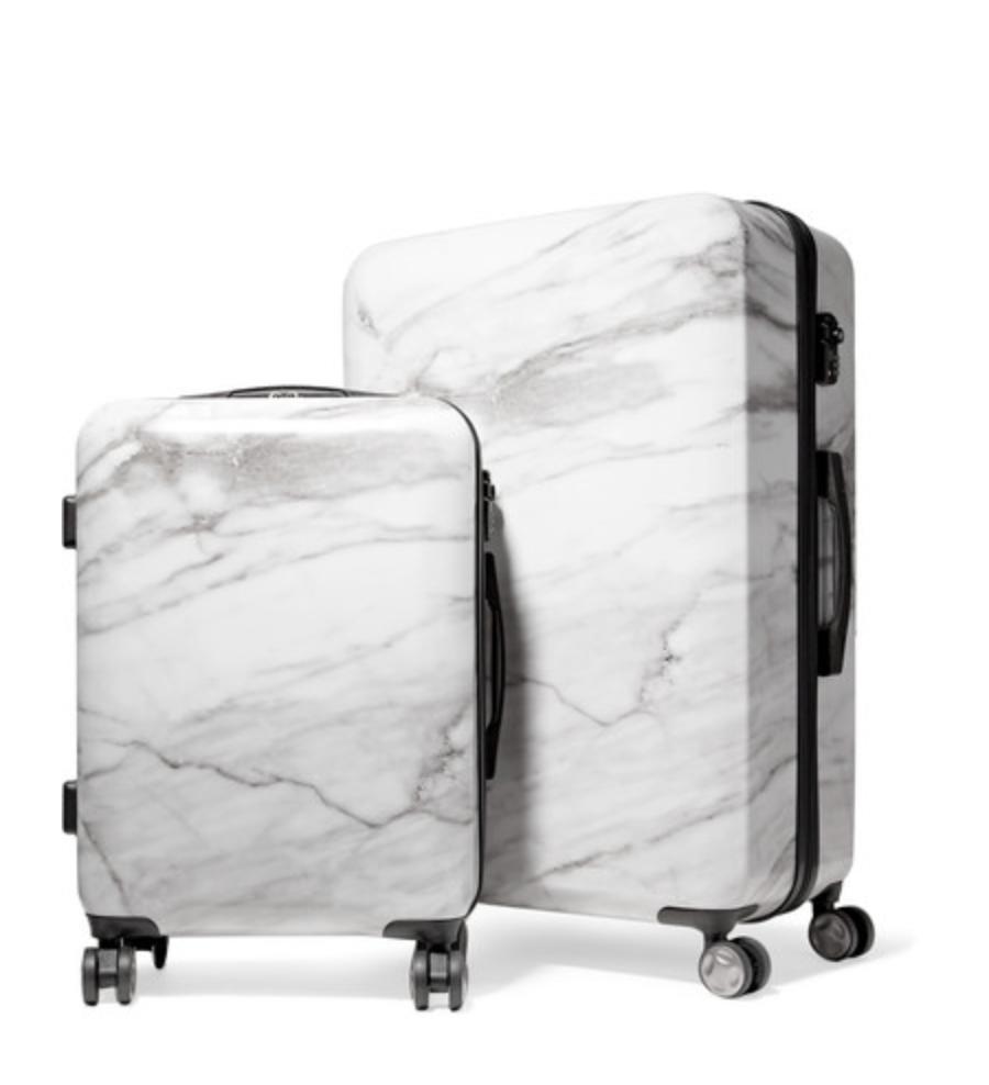 Set de valises rigides marbrées Astyll