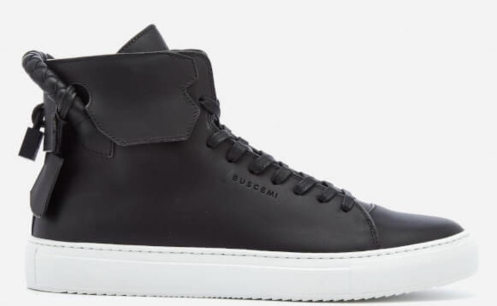 Buscemi Men's 125MM Weave High Top Trainers