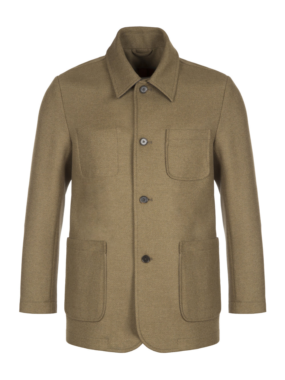 MbE Khaki Chore Deluxe - The MbE Chore Deluxe – A versatile jacket that takes the artisan work jacket as its inspiration, that you can