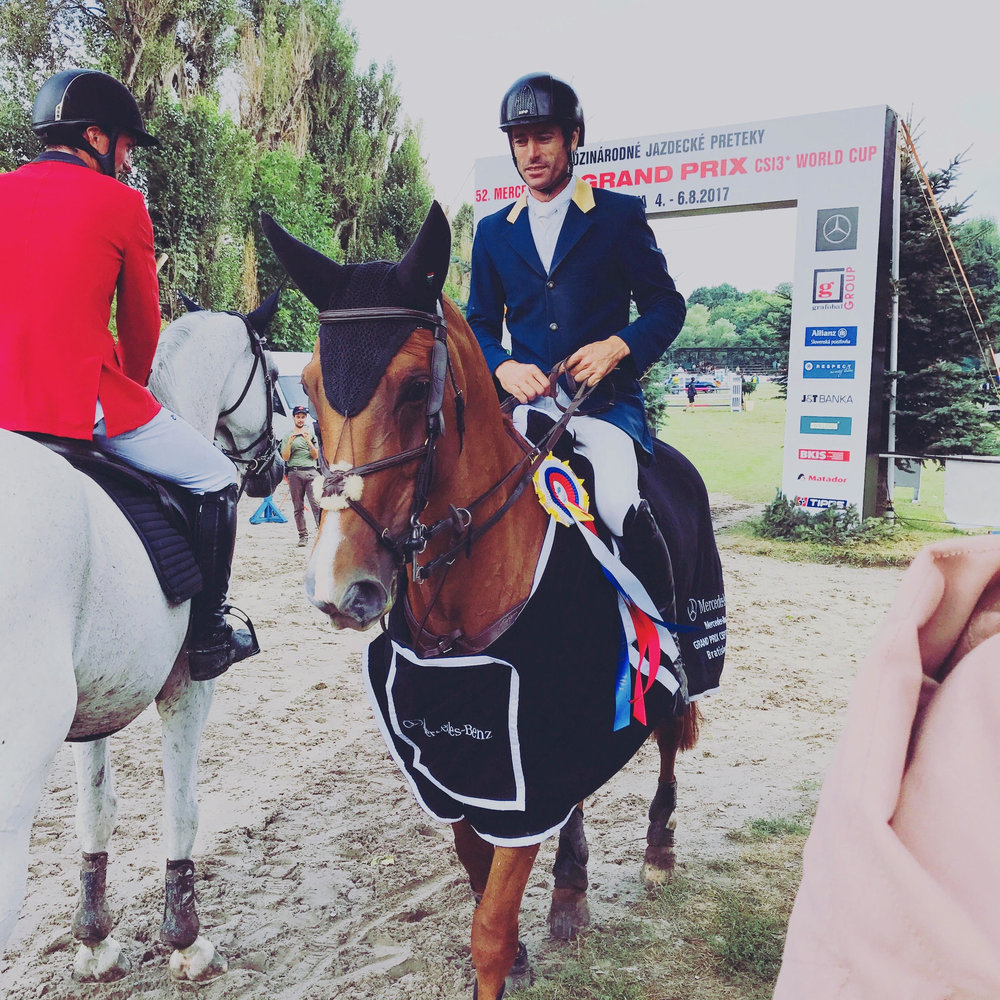Rowan & Blue Movie winners of CSI3* GP in Bratislava, Slovakia, 2017