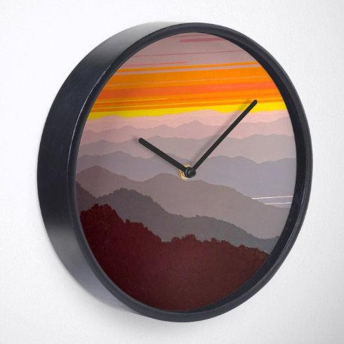 Clock - Mountains