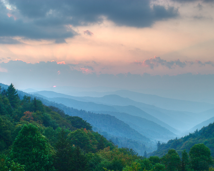 Commission Dimensional Landscape Paintings, Cindy Lou Chenard, Asheville, North Carolina-001.jpg