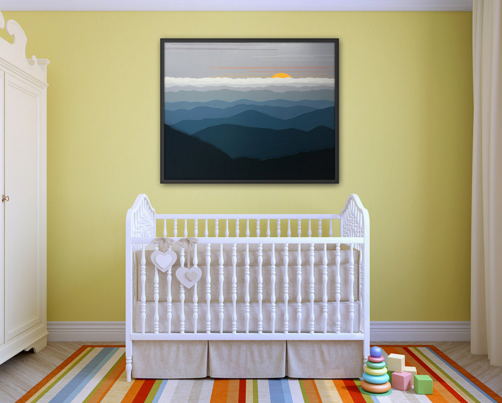 Commission Dimensional Landscape Paintings, Cindy Lou Chenard, Asheville, North Carolina-003.jpg