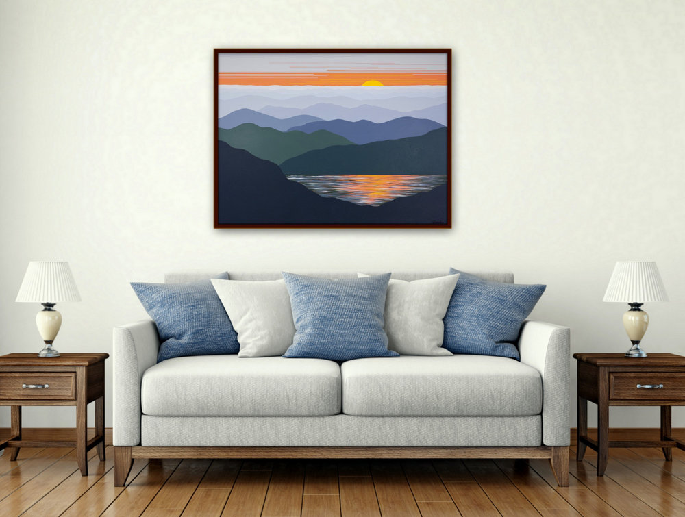 Commission Dimensional Landscape Paintings, Cindy Lou Chenard, Asheville, North Carolina-026.jpg