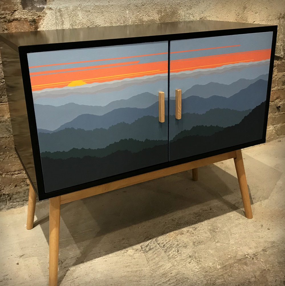 Landscape Painted Furniture, Cindy Chenard, River Arts District-001.jpg