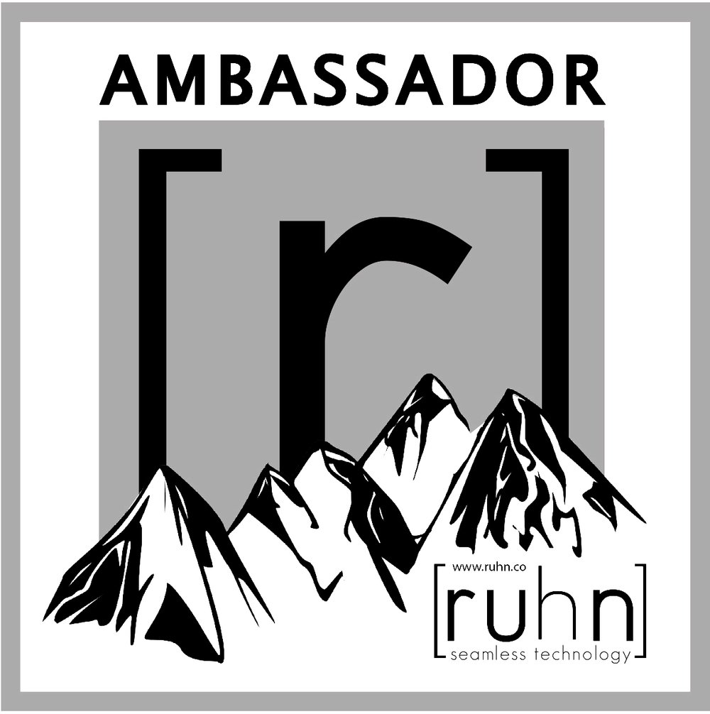 Interested in representing Ruhn Co. as an ambassador? We're looking for awesome athletes like you who love our apparel as much as we do. Shoot us an email to request an application.  -