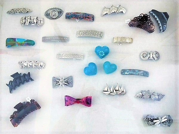 - Hair Clips Prices Range from $10.00 to $30.00