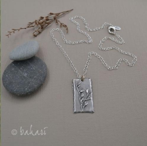Sea Lavender Necklace
