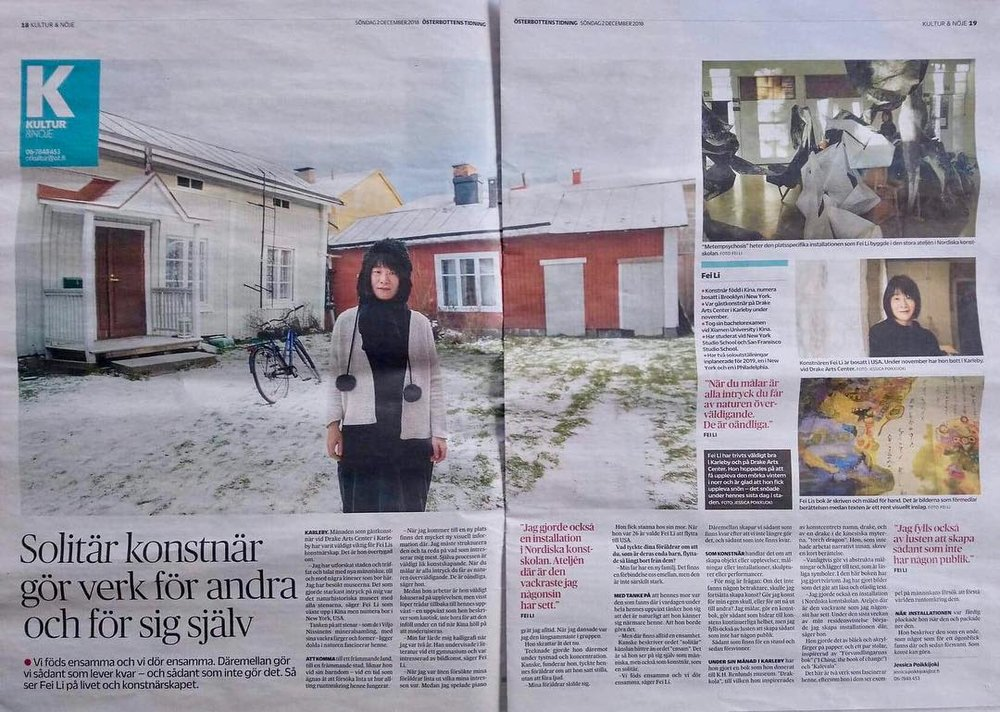 An article by Swedish newspaper Österbottens Tidning. Click  Here  to read it.