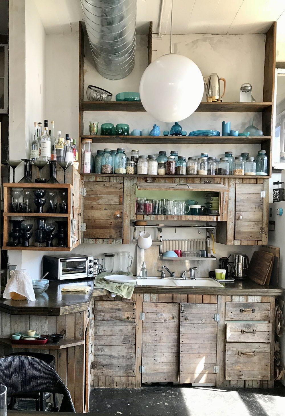 Home & Studio of designer Sage Reed.