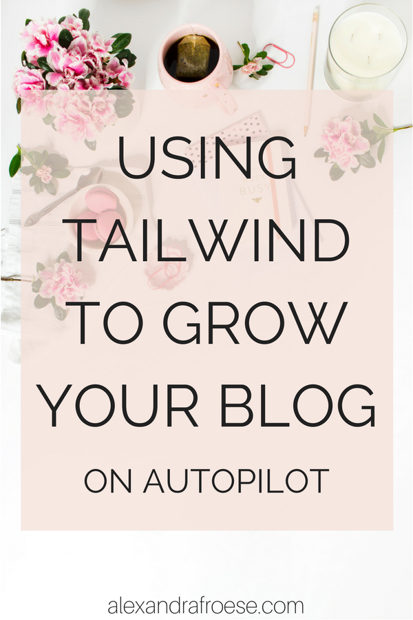 Tailwind is an amazing way to promote your blog or business on Pinterest. Automation and scheduling are the best way to grow your audience (and increase your income!) while you work on other parts of your business.
