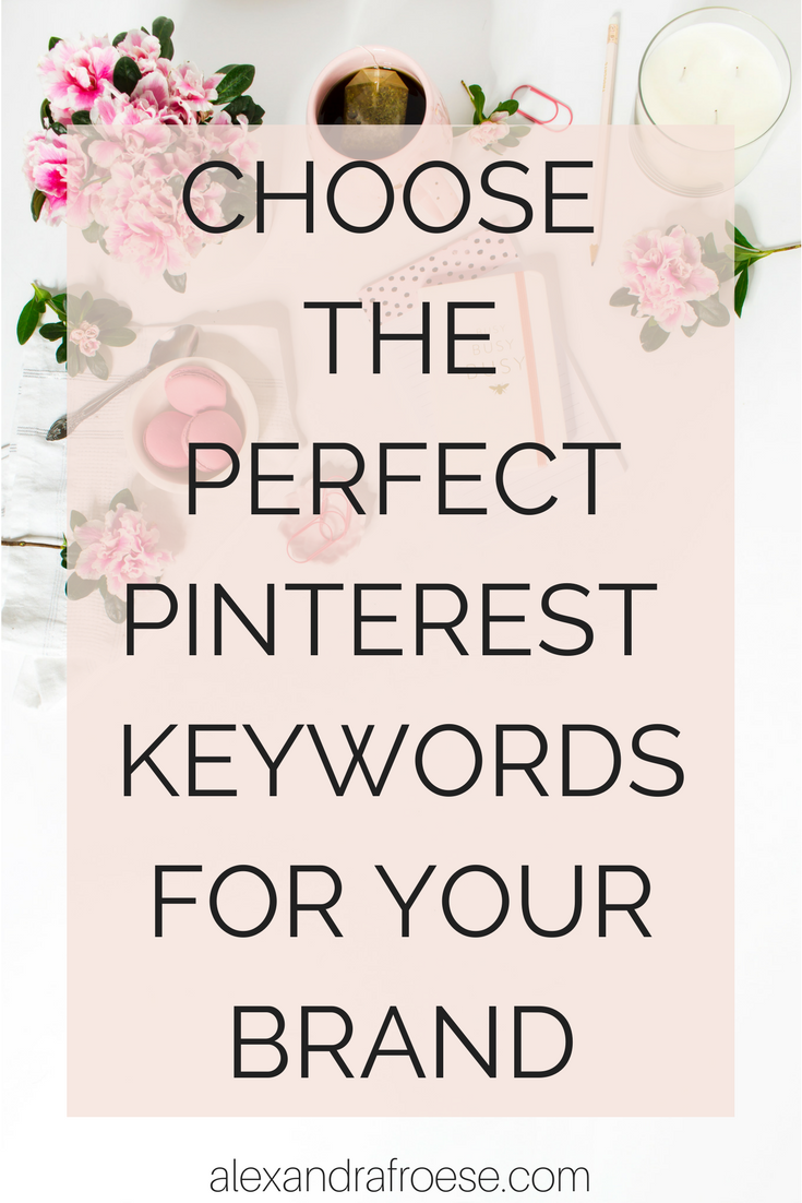 Pinterest runs on SEO, fueled by keywords. Choosing the best keywords for your blog or business are crucial to reaching your target audience and making your social media marketing plan count.