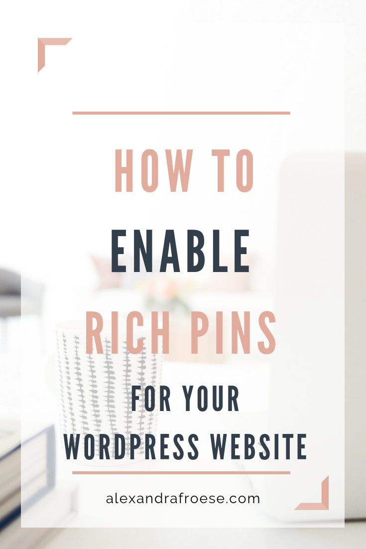 Enabling Rich Pins is so simple and brings so much value to your Pins. While regular pins only show a user-written description, Rich Pins pull that information directly from your website. It ensures that, no matter what future re-pinners add to the description, your information will show up correctly and prominently.