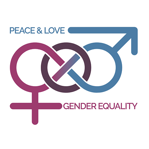 2017: The Steppingstone Foundation   6th graders in Brighton, MA designed this logo to go on t-shirts that were distributed to peers and teachers in order to spreader awareness about gender equality.